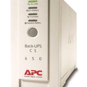 Источник бесперебойного питания APC Back-UPS CS, OffLine, 650VA / 400W, Tower, IEC, Serial+USB