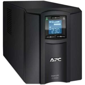 Источник бесперебойного питания APC Smart-UPS SC, Line-Interactive, 2000VA / 1300W, Tower, IEC, LCD, USB