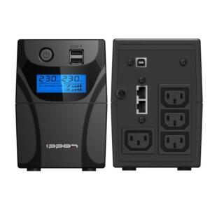 IPPON Ippon Back Power Pro LCD II 700  (Линейно-интерактивные, Напольный, 700 ВА, 420 Вт)