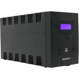 IPPON Smart Power Pro II 2200  (Линейно-интерактивные, Напольный, 2200 ВА, 1200 Вт)