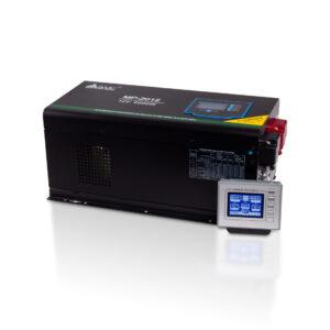 Инвертор, SVC, MP-2012, Мощность 2000ВА/2000Вт, Диапазон работы AVR: 100-290В (режим инвертора), 160-275В (режим ИБП), Вход 12В/220В, Выход 220В/230В, Чистая cинусоида, Зарядный ток 45 А, Время переключения режимов 4-6 мс, Кулер 9 см, Клеммное подключение, Чёрный