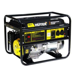 Портативный бензогенератор HUTER DY8000L